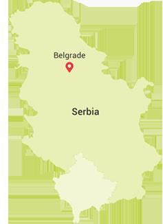 mapa udaljenosti srbija Mapa i Pozicija mapa udaljenosti srbija