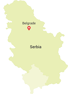 mapa Srbija